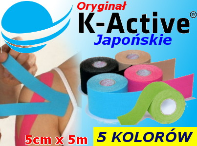 K-active Nitto Denko kinesiology taping